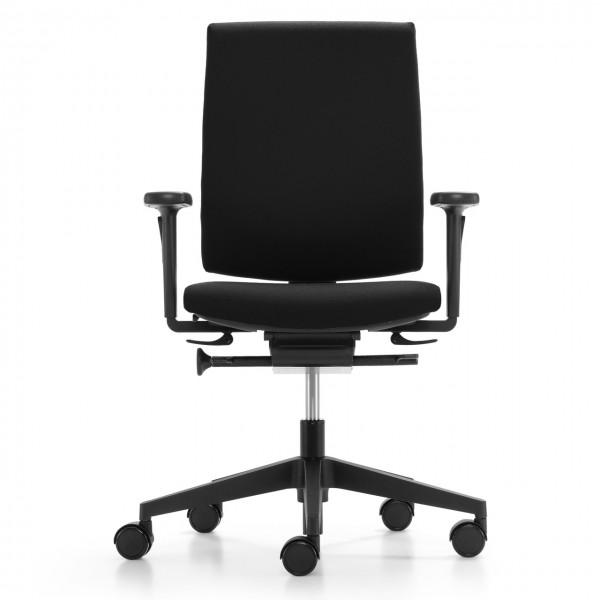 Girsberger Kyra A Bürodrehstuhl schwarz sofort lieferbar