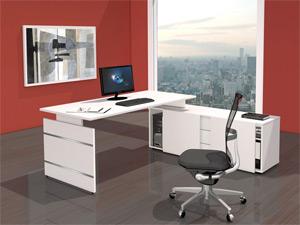 Büromöbel Schreibtisch Winkelkombination