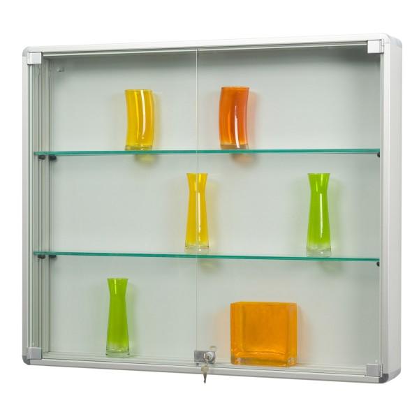 Sammlervitrine Glas hängend mit Drehtüren