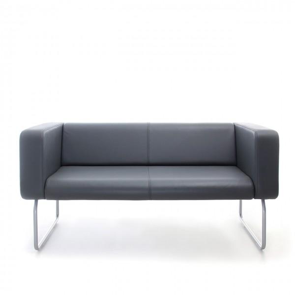 2 Sitz Sofa Lounge Büro Lowgann