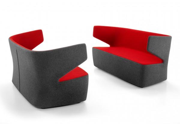 Girsberger Pablo kleines Lounge Sofa