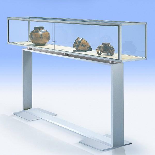 Glasvitrine modern mit Designgestell