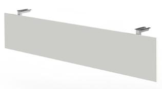 Knieraumblende in Weiß