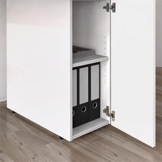Stauraum Element mit Tür, abschließbar