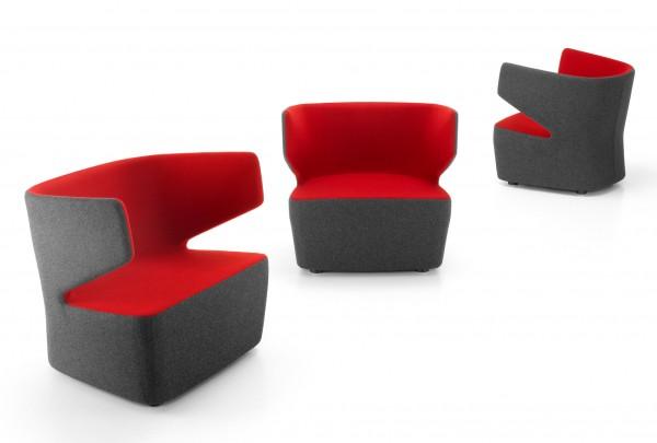 Girsberger Pablo Design Sessel Lounge