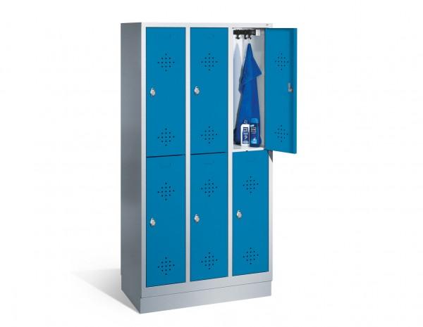 Garderobenschränke Metall 90 x 180 x 50 cm