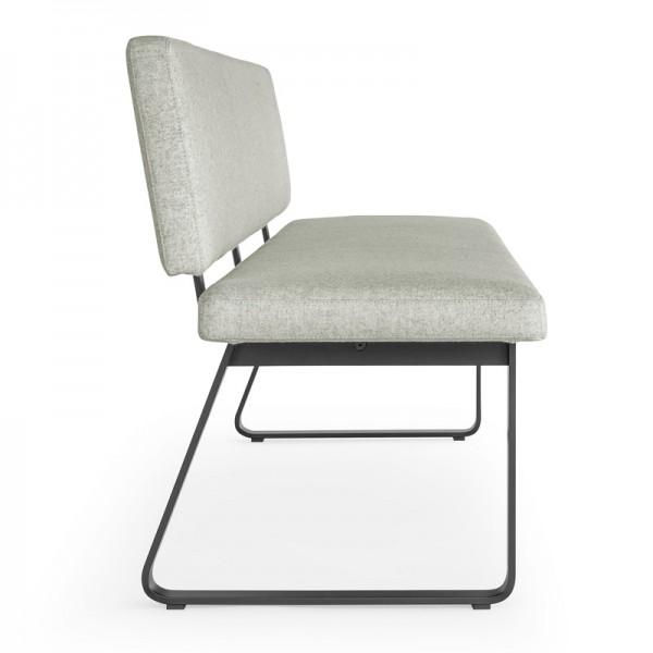 Design gepolsterte Sitzbank mit Lehne Girsberger