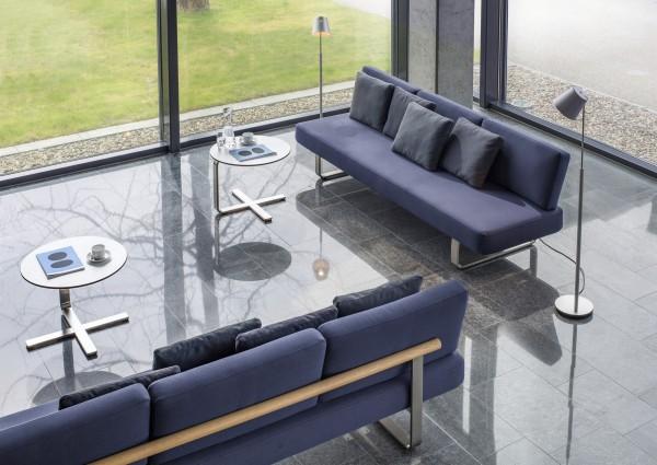 Büro Lounge Sofa Girsberger Joline
