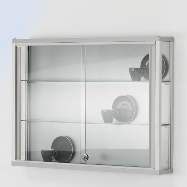 Glaswandvitrine mit Schiebetüren Link V805