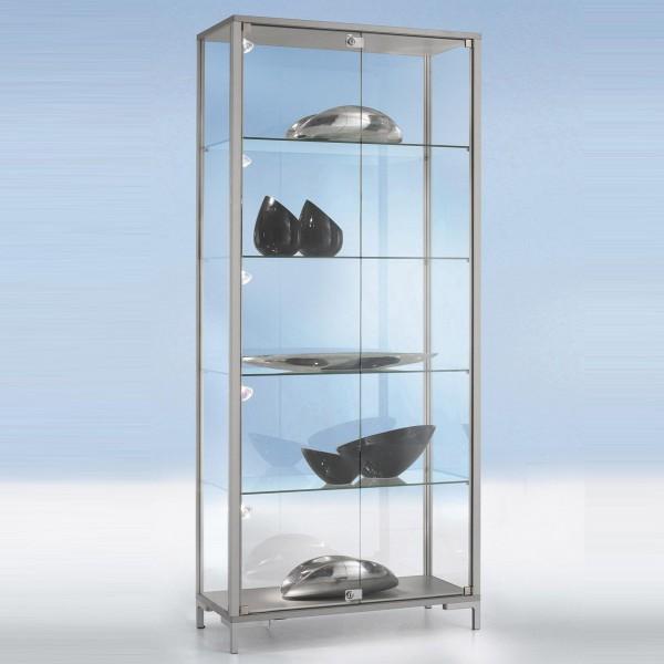 Glasvitrine Sicherheitsglas mit Drehflügeltüren abschließbar