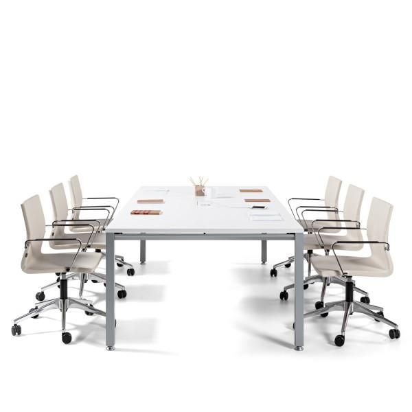Konferenztisch Weiß Ital