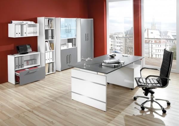 Büromöbel Set Dommo 7-teilig