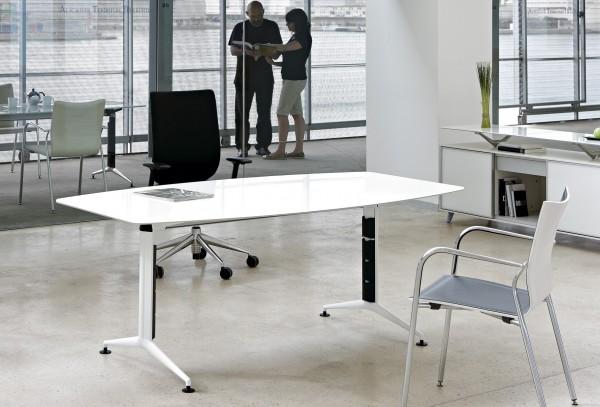 Schreibtisch weiß modern Ritma